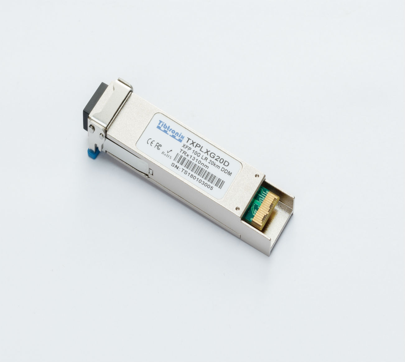 10GBASE-LRM XFP 1310nm 220m DDM Transceiver40GBASE-SR Bi-Directional Duplex LC Transceiver